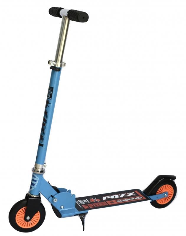 Самокат городской Foxx Extreme Power сталь PVC колеса 125 мм, ABEC-7, синий  117754 - 125EP FOXX BL7ID: 216554