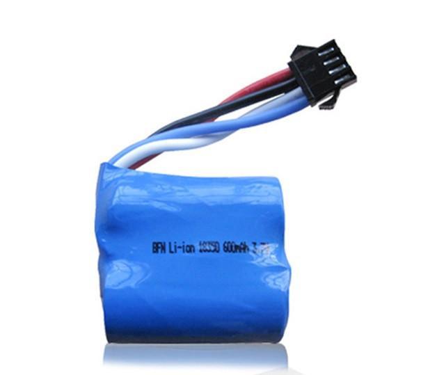 Аккумулятор LiIon 7.4V 600mAh 18350 разъем YP4 - LI-ION-74-600-YP4