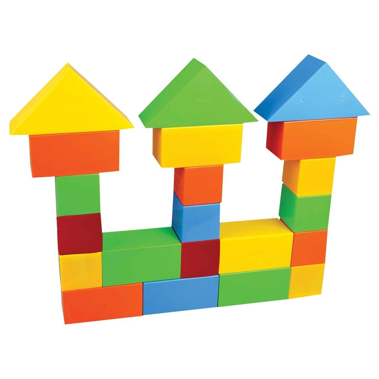 Картинка для детей заборчик из кубиков