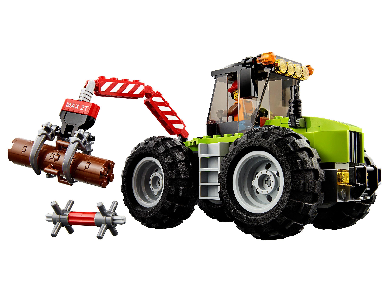 набор лего трактора картине изображен