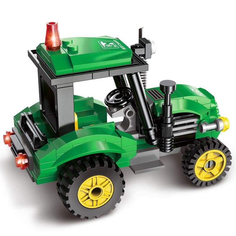 набор лего трактора изобразить только