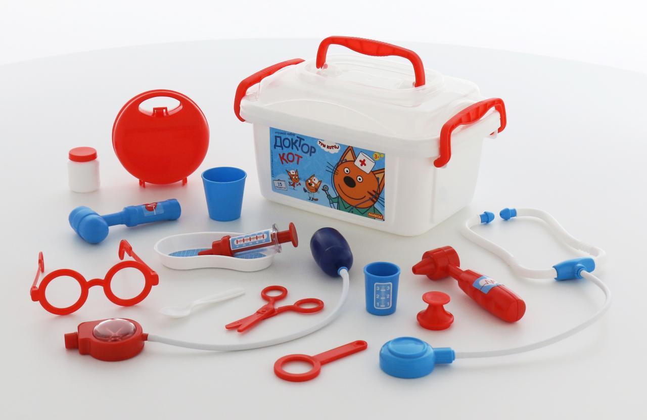 68b587937513 Набор доктора в контейнере - Три кота - 65353 PLS   детские игрушки ...