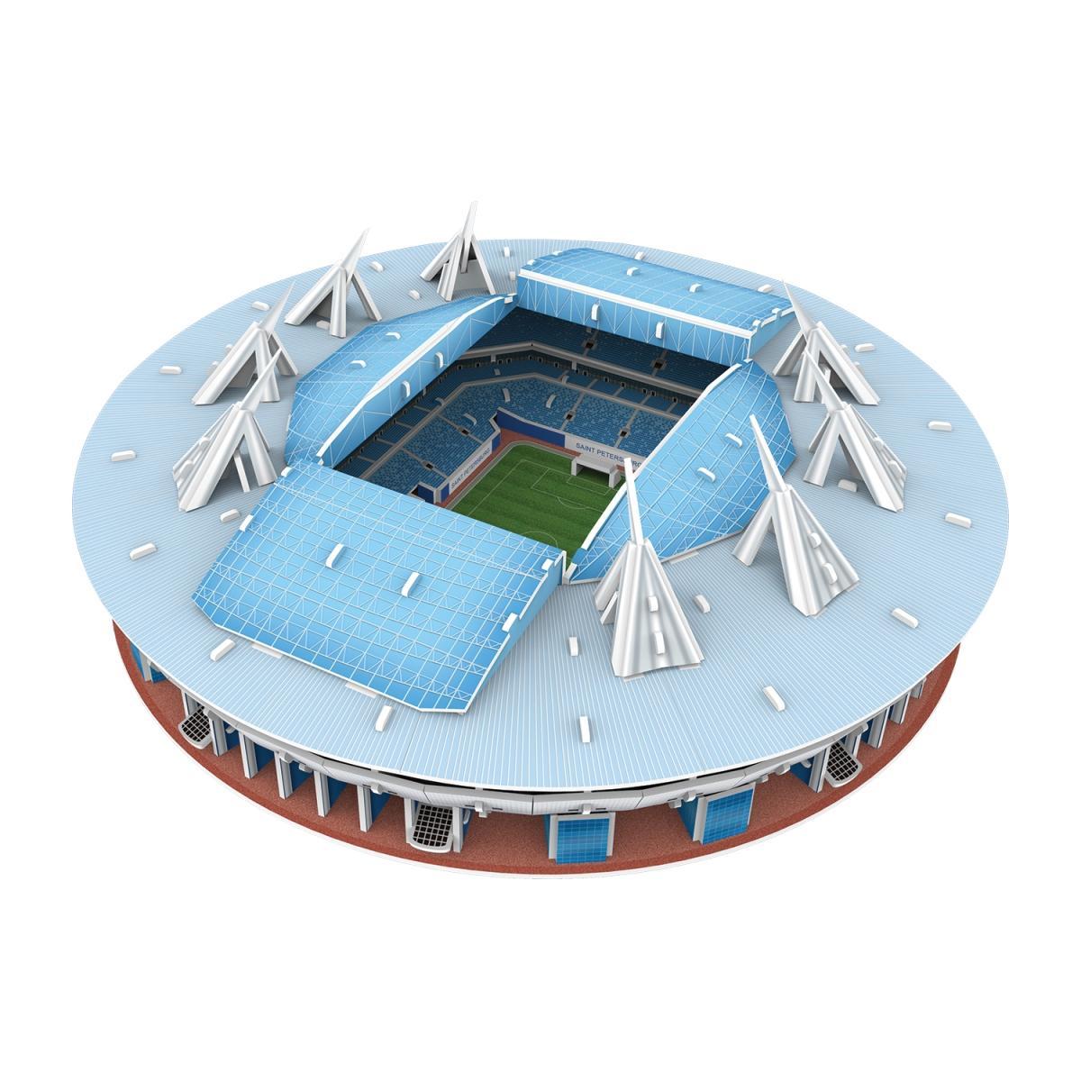 b514fa528d18 3d пазл IQ 3D PUZZLE 16551 Стадион Санкт-Петербург - 16551   детские ...