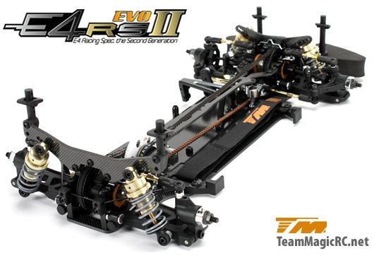 Модель шоссейного автомобиля Team Magic E4RS II Evo Spool Version 4WD KIT (набор) масштаб 1:10