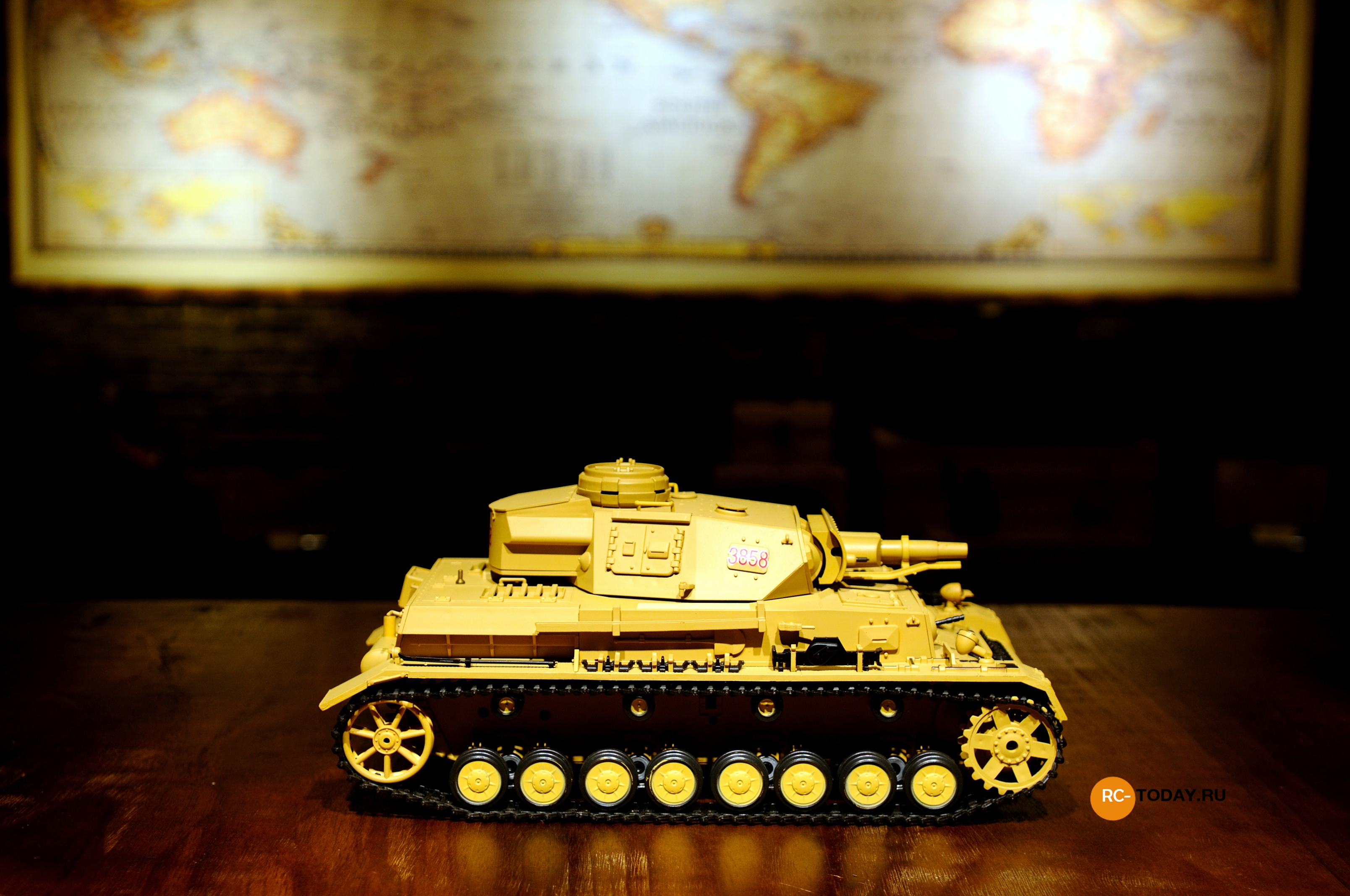 Игрушка Taigen Dak Panzerkampfwagen IV Ausf F-1 HC RTR TG3858-1HC