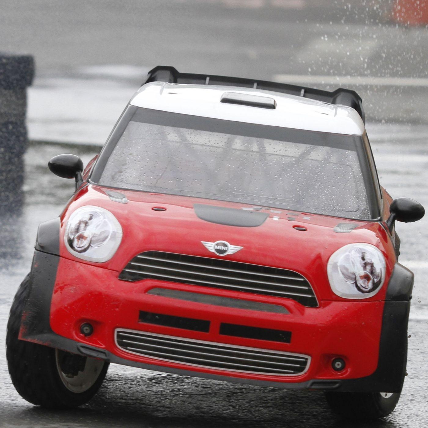 модель раллийного автомобиля Losi Mini Wrc Avc 4wd Rtr Los05007