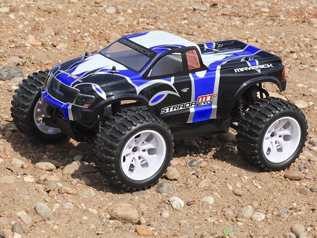 Радиоуправляемый монстр Maverick Strada MT Evo 4WD RTR масштаб 1:10 2.4G