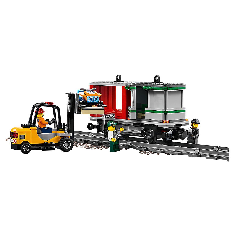 Конструктор lego city trains 60198 товарный поезд