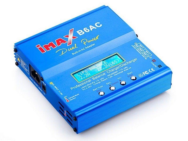 Универсальное зарядное устройство G.T.Power iMax B6AC 50Вт - IMAX-B6AC-50-C