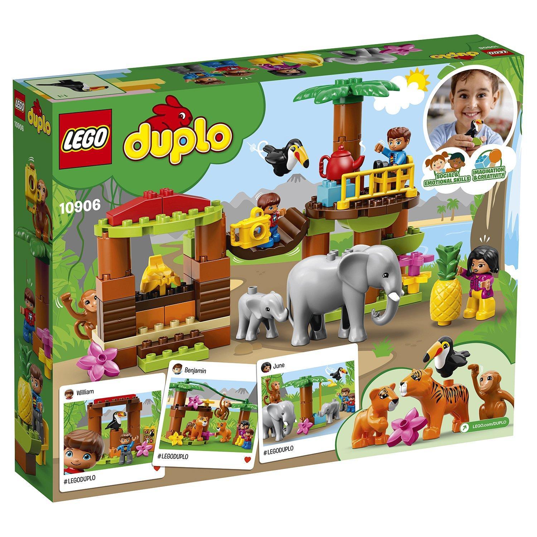 Конструктор lego duplo town тропический остров 10906